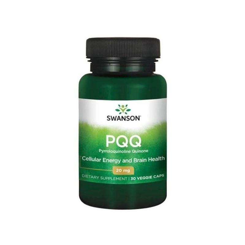 Ultra PQQ Pirolochinolina Chinona 20mg 30 Capsule, pret, beneficii, prospect, efecte, chinina