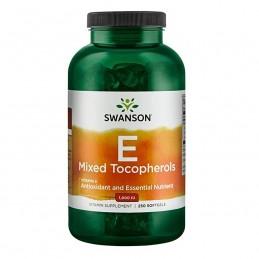 Vitamina E Mix Tocoferoli 1,000 IU, 250 Capsule, 3.333% Doza zilnica, Vitamina E forte, concentrata