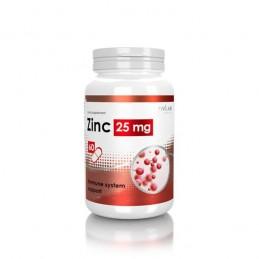 Zinc Glicinat 25 mg 60 Capsule, prospect, doze, beneficii, pret, efecte, pareri
