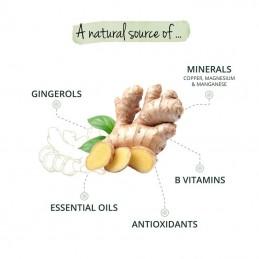 Ghimbir Organic (Ginger Bio) 180 Capsule