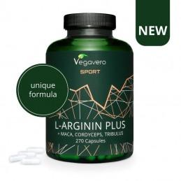 L-Arginine Plus Maca, Tribulus, Cordyceps, Zinc 270 Capsule