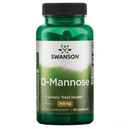 Swanson D-Mannose (D-Manoza), 700 mg, 60 Capsule