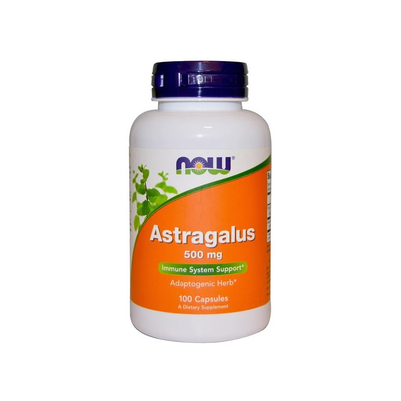 NOW Astragalus, 500 mg, 100 Capsule