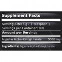 Arginina Alfa Ketoglutarat pulbere (AAKG) 250 grame