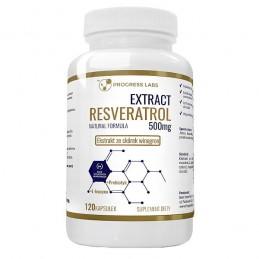 Extract Resveratrol 500 mg 120 Capsule