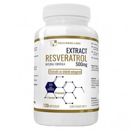 Progress Labs Extract Resveratrol 120 Capsule