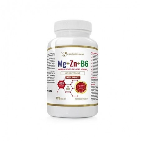 Mg+Zn+Vit B6 120 Tablete