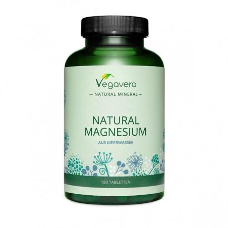 Vegavero Natural Magneziu 300 mg 180 Tablete