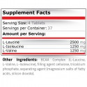 BCAA 5000 75 tablete, Aminocizi, L-Leucina, L-Valina, L-Isoleucina