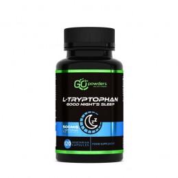 Raw Powders L-Tryptophan Good Night's Sleep 500 mg 120 Capsule