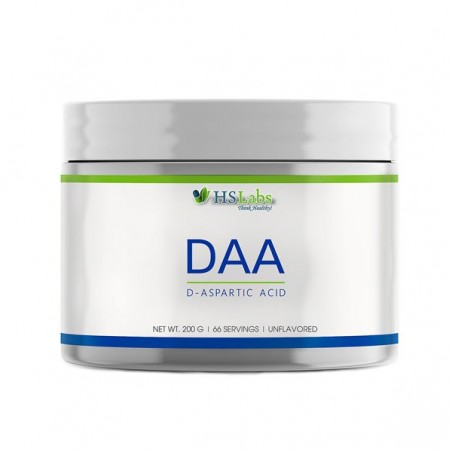 HS Labs DAA, D-Aspartic Acid pulbere 200 grame