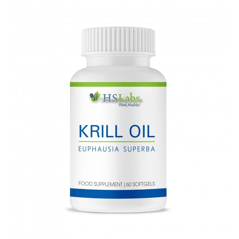 Krill Oil 60 Capsule, tratament colesterol marit si trigliceride
