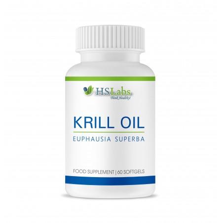 HS Labs Krill Oil Omega 3 60 Capsule