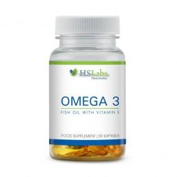 Omega 3 1000 mg 30 Capsule cu Vitamina E