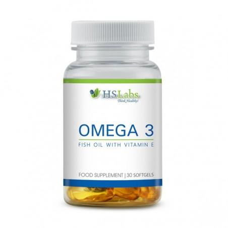 HS Labs Omega 3 1000 mg 30 Capsule