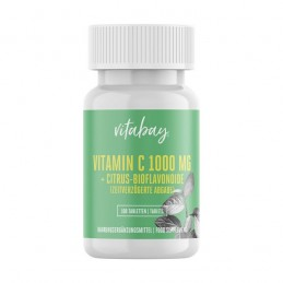 Vitamina C 1000 mg + Bioflavonoide 100 Tablete, eliberare in timp