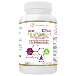 Ashwagandha Extract 500mg 9% Withanolides120 Capsule, ginseng indian, prospect, pret, beneficii