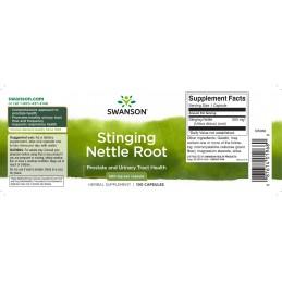 Radacina urzica 500 mg 100 Capsule, prospect, pret, efecte, beneficii