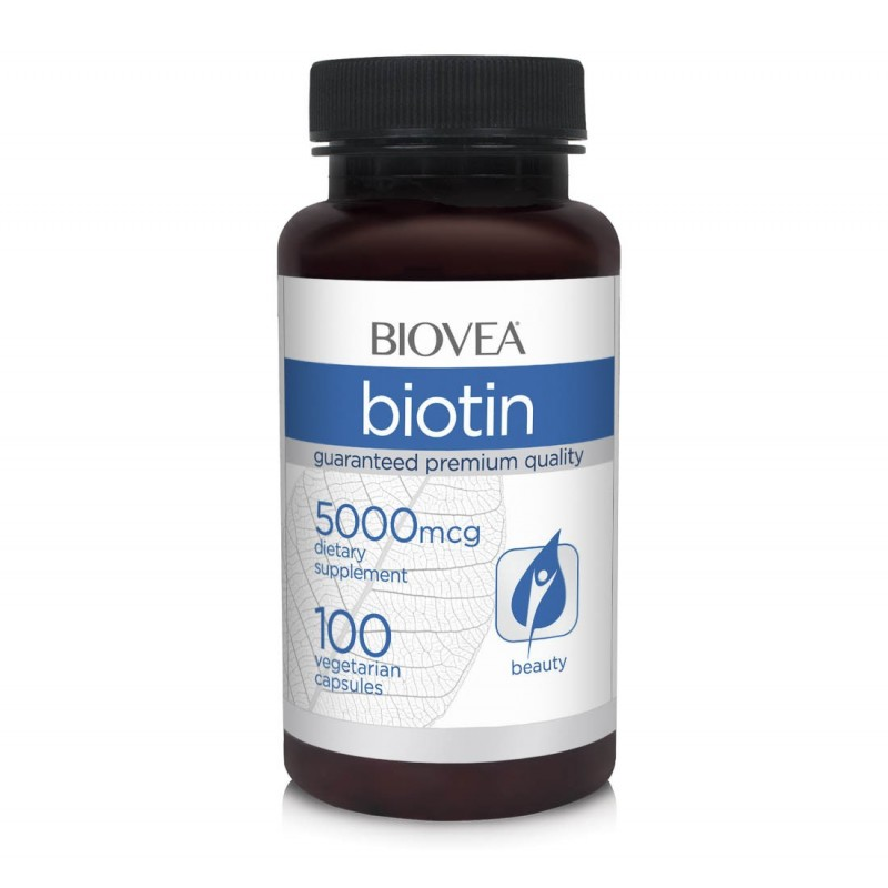 Biotina 500 mcg, 60 capsule, Vitamina B7, Vitamina H