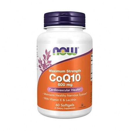 Now Foods Coenzima Q10 Super Forte 600mg 60 Capsule