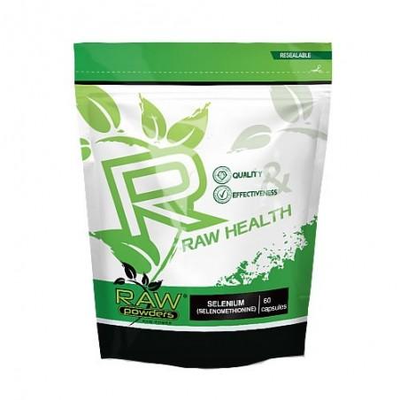 Raw Powders Seleniu (Selenometionina) 200mcg 60 Capsule
