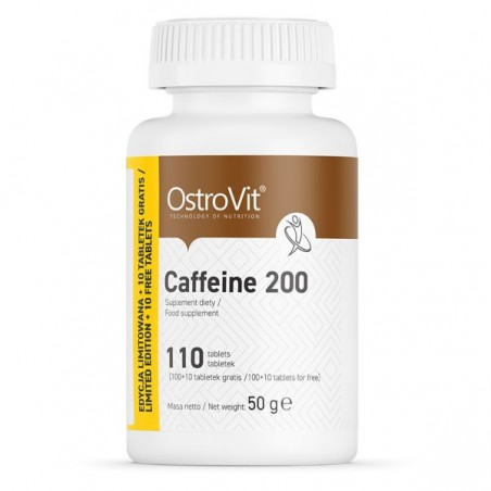 Caffeine 200 mg 110 Tablete