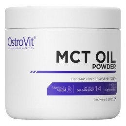 OstroVit MCT Oil pulbere 200 grame