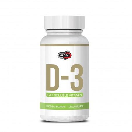 Pure Nutrition USA Vitamina D3 5000 ui 100 capsule