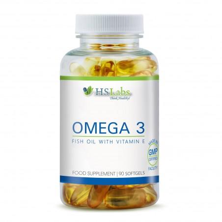 HS Labs Omega 3 1000 mg 90 Capsule