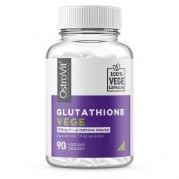 Glutathione VEGE 90 Capsule, prospect, doze, beneficii, pret, efecte, indicatii