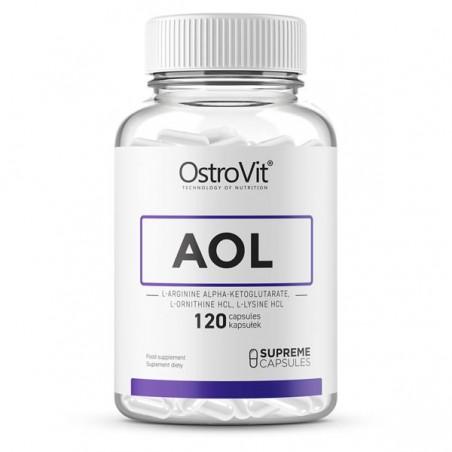 OstroVit Supreme AOL (L-Arginina, L-Ornitina, L-Lizina) 120 Capsule
