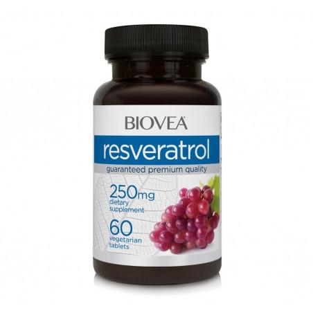 Biovea Resveratrol 250mg 60 capsule