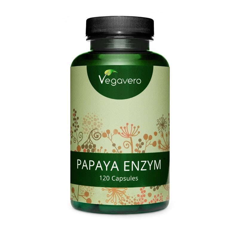 Papaya Enzyme 120 Capsule, arzator grasimi, pastile celulita