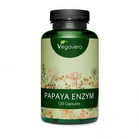 Vegavero Papaya Enzyme 120 Capsule