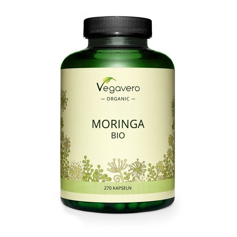 Moringa Oleifera Organic 270 capsule