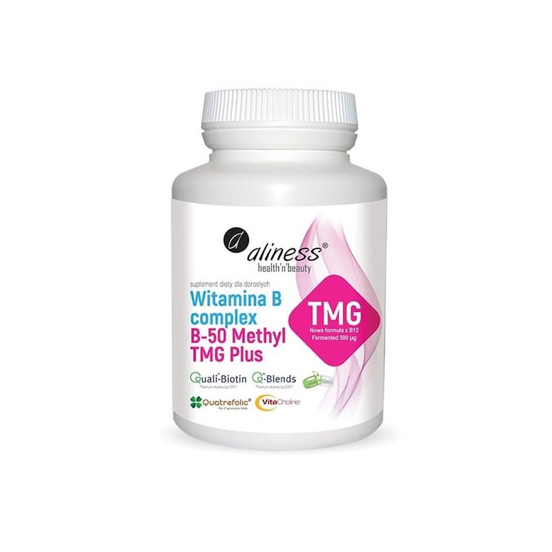 Vitamina B Complex B-50 Methyl TMG PLUS, 100 Capsule