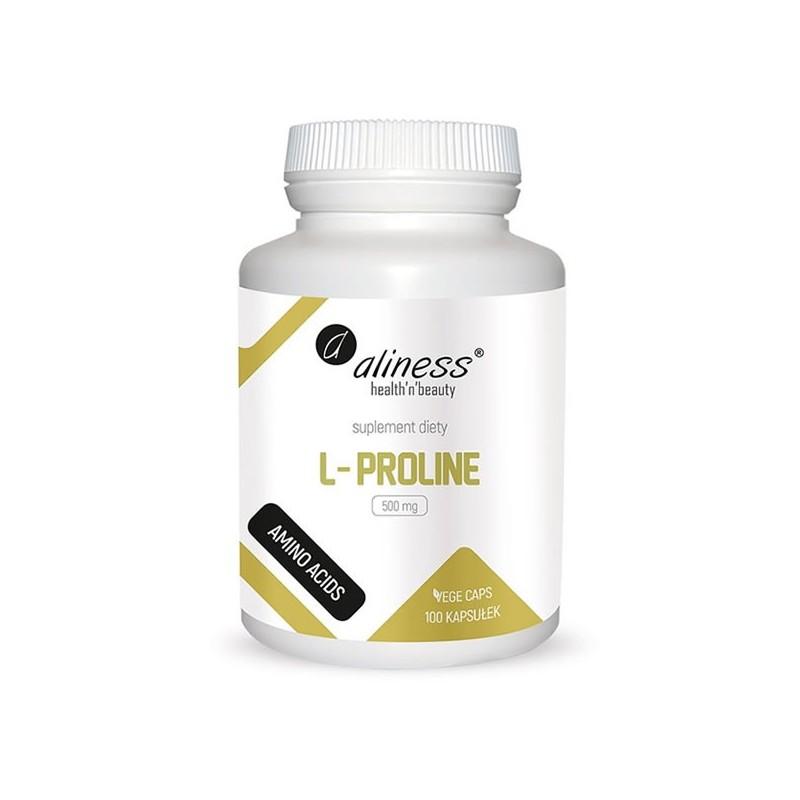 L-Proline 500 mg 100 Capsule, pret, prospect, beneficii, efecte