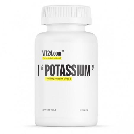 VIT24.com Potassium 60 Tablete