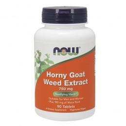 Horny Goat Weed cu Maca 750 mg 90 Capsule, Iarba Caprei Nebune