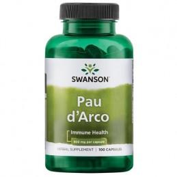 Pau D'Arco 500 mg 100 Capsule, prospect, efecte, pret, pareri, beneficii, doze, administrare