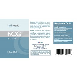 HCG Activator picaturi (2oz) 60ml, HCG extract lichid picaturi
