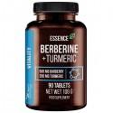 Berberine + Turmeric Curcuma - 90 Tablete, glucoza sange si diabet