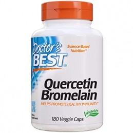 Quercetin Bromelain - 180 Capsule, prospet, pareri, doze, indicatii, efecte, beneficii