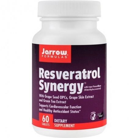 Jarrow Resveratrol Synergy - 60 Tablete