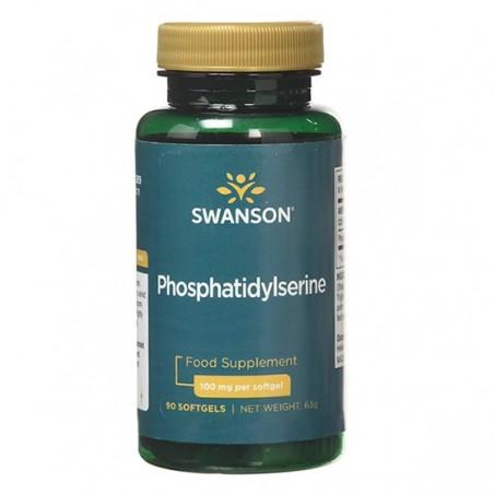 Swanson Fosfatidilserina 100 mg 30 capsule