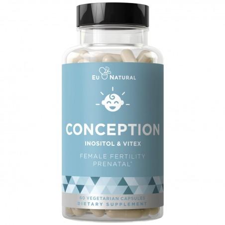 Eu Natural Conception Inositol & Vitex - 60 Capsule