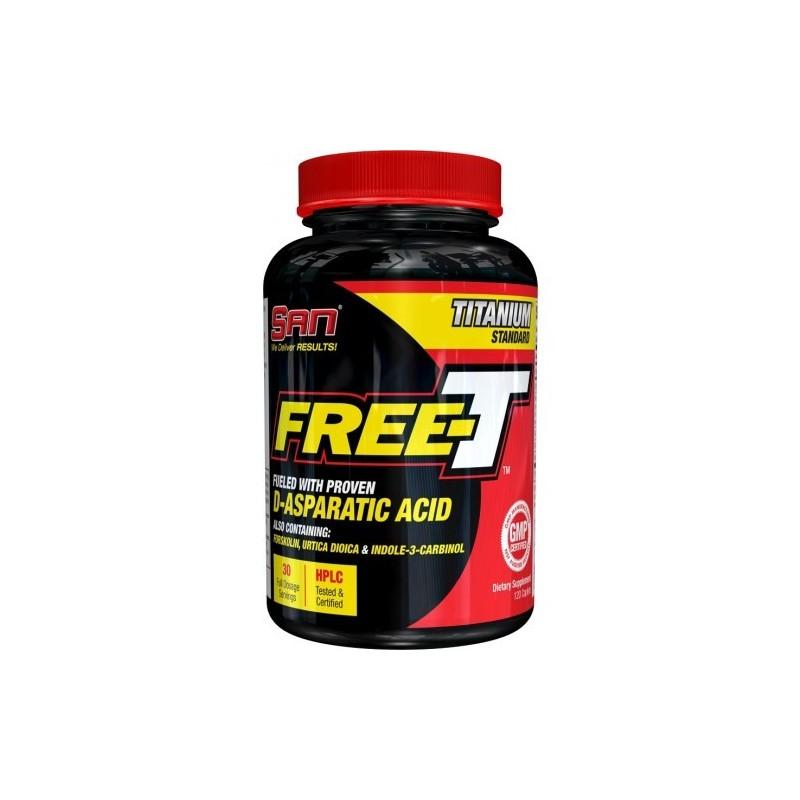 SAN Free-T (Acid Aspartic) - 120 Capsule