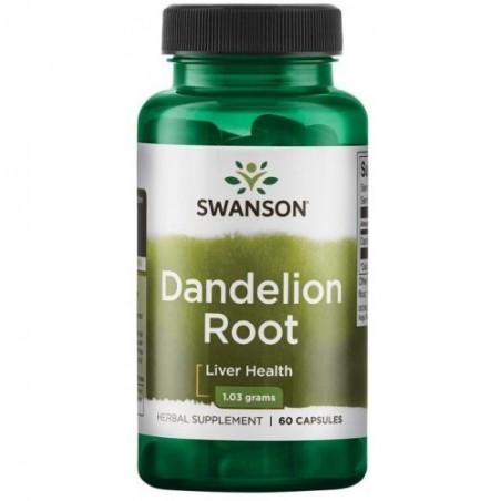 Swanson Dandelion Root (Papadie) 515 mg - 60 Capsule