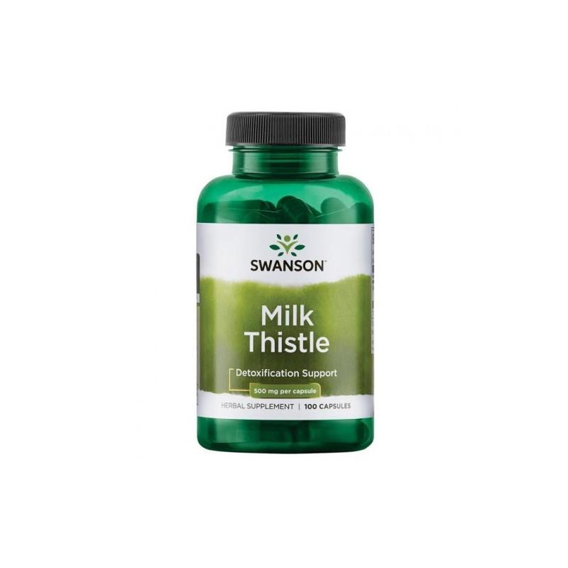 Milk Thistle, Armurariu, lapte de ciulin, 500mg - 100 Capsule