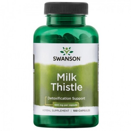 Swanson Milk Thistle, Armurariu, 500mg - 100 Capsule